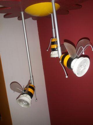 lampara de techo infantil