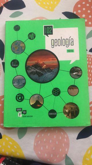 Libro Geología Práctica 2º bachillerato Edelvives