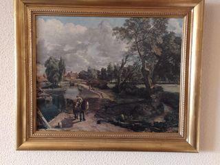 Óleo reproducción Jhon Constable