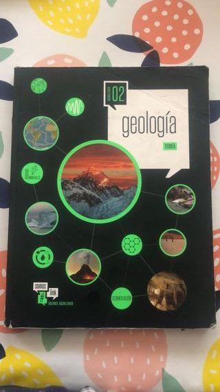 Libro Geología Teoría 2º Bachillerato Edelvives