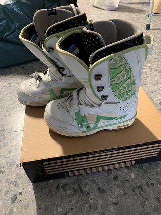 Botas de snowboard mujer