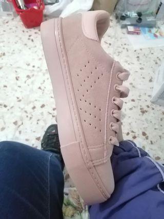 zapatos 36 color rosa