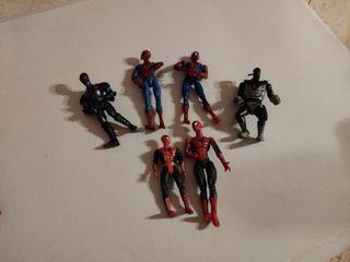 Spiderman muñecos