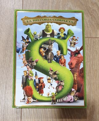 3x2 Saga de películas completa de Shreck
