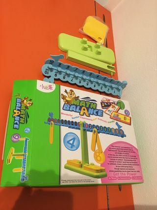 Balanza matemática- juego