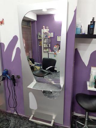 espejo de peluqueria