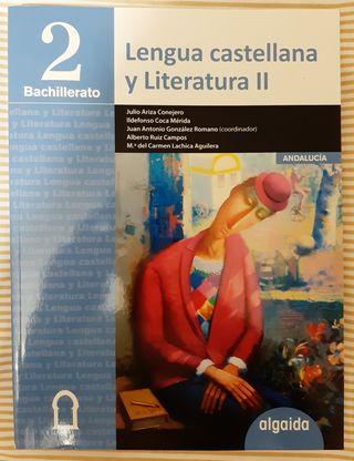 Libro de Lengua Castellana y Literatura II, 2 Bach