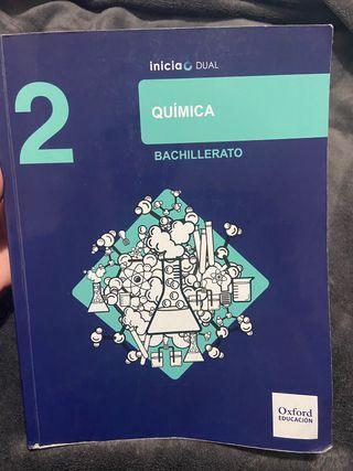 Libro química Oxford 2 Bachillerato