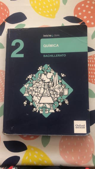 Libro Química 2º Bachillerato Oxford Educación
