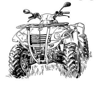 quad ATV automatico 4x4