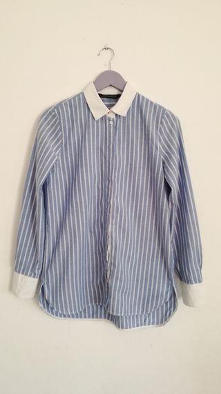 Camisa rayas Zara de segunda mano por 15 € en Valencia en