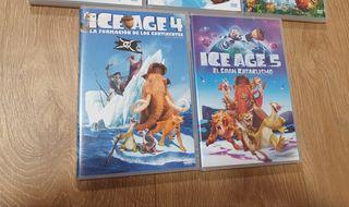 Saga completa de películas Ice Age