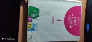 Libro de Física Y Química 1 Bachillerato Anaya