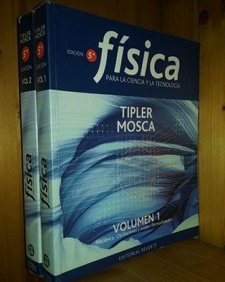Libros de Física - Tipler Volumen I y II