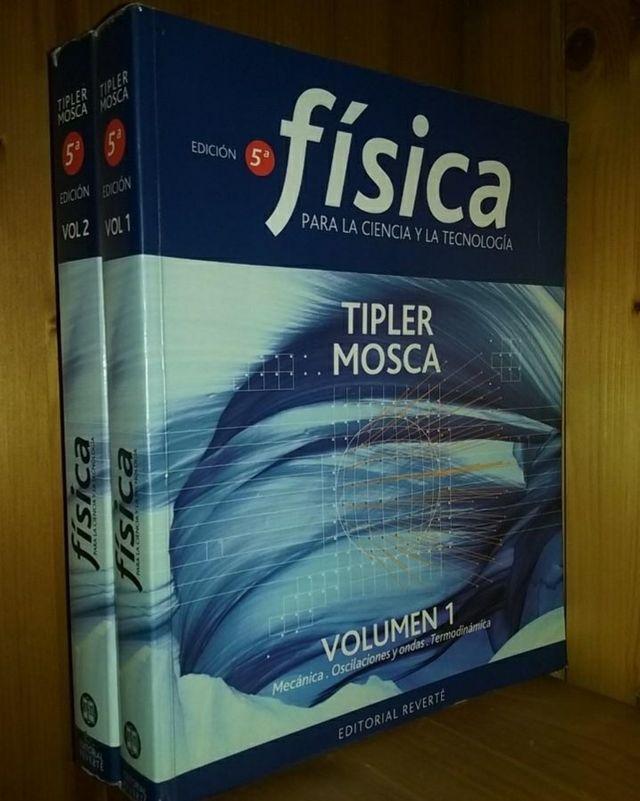 Física Tipler Mosca Volumenes I y II juntos