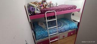 Dormitorio juvenil / infantil litera