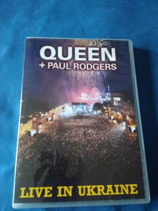 Queen + Paul Rodgers Live in Ukraine 2008 Dvd