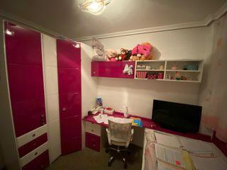 Muebles habitación Rosa y Blanco de alta calidad