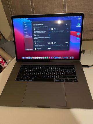 """MacBook Pro 15"""" 2018 i7 16gb 1T perfecto estado"""