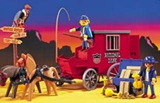 Playmobil CARRO NATIONAL BANK REF.3087 . LEER BIEN