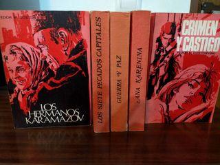 colección de libro de fedon M,Dostoievskl