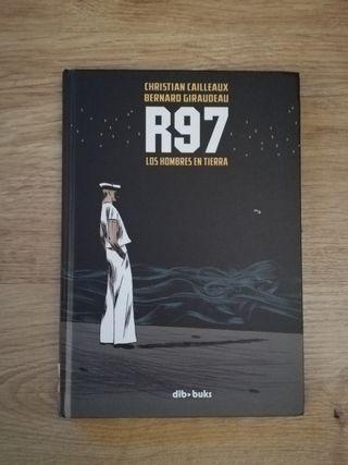 Novela Gráfica R97 los hombres de la tierra