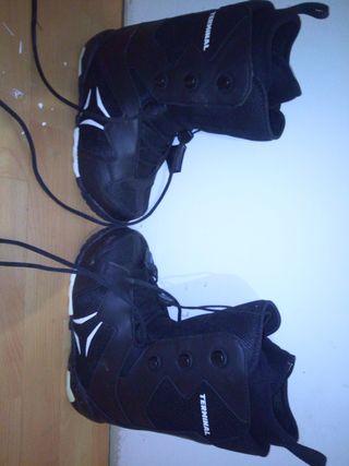 botas snow niño t38
