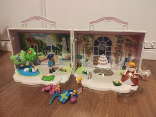Fiesta de cumpleaños de princesas de Playmobil