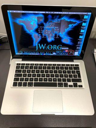 Impecable MacBook Pro con SuperDrive