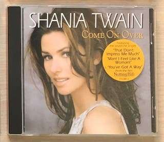 "CD Shania Twain ""Come on over"""