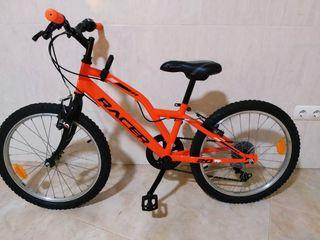 Bicicleta Racer 20,con marchas