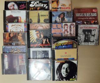 Vendo 36 CD's variados