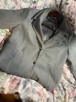 Collar long coat (negotiable price)