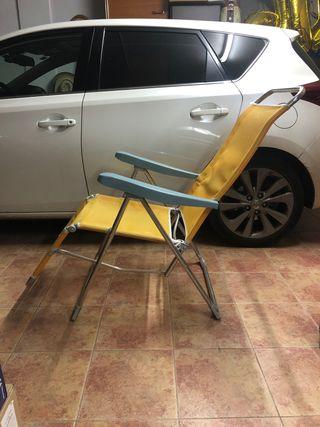 Tumbona / silla plegable
