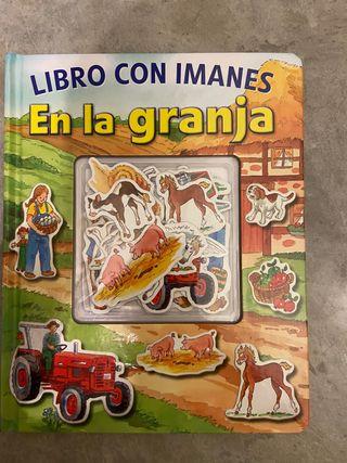 Libro infantil con imanes En la Granja