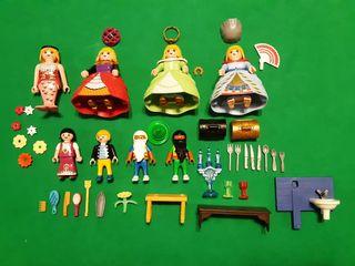 Lote de princesas y cuentos de Playmobil