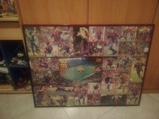 cuadro de Barcelona de puzzle