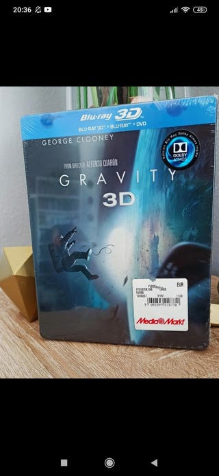 steelbook blu Ray Gravity 3D