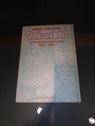 Libro ilustraciones Dragon Ball