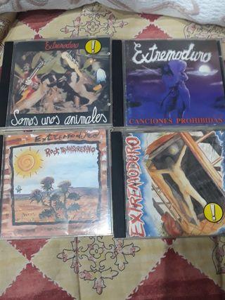 4 cds Extremoduro