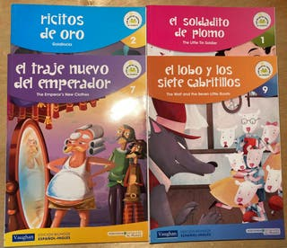 Libros infantiles ingles - español