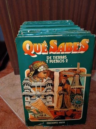 Libro Que Sabes (1980) colección completa 10 libro
