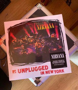 NIRVANA LP vinilo MTV UNPLUGED IN NEW YORK