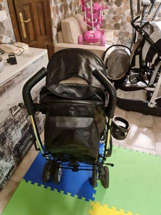 silla de paseo baby luxe cuero