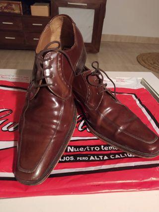 zapatos hombre piel 41