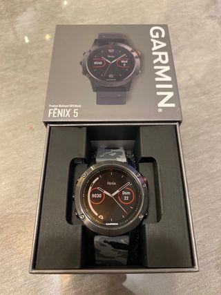Reloj Garmin Fenix 5 casi nuevo