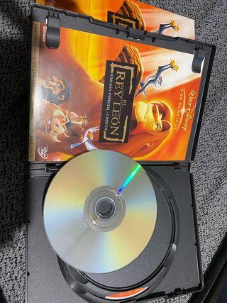 Vendo película dvd rey leon