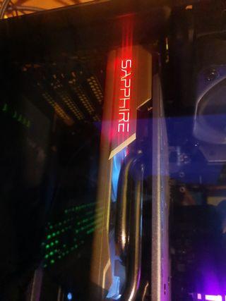 Tarjeta gráfica Radeon Rx590 edición 50 aniversari