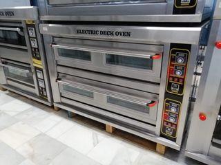 horno electrico para pizza 6+6