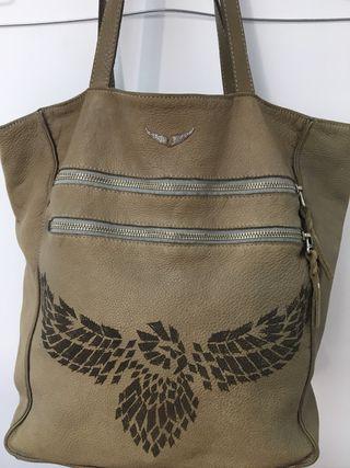 Bolso Shopping bag piel Zadig & Voltaire